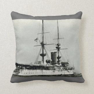 Renombre histórico del HMS de las naves Cojines