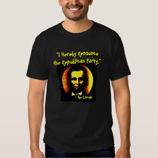 RENOUNCE THE PARTY - T-shirt