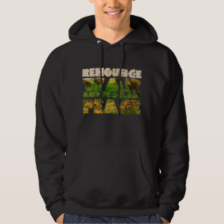 Renounce War and Proclaim Peace Hoodie