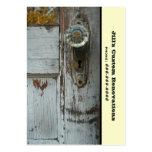Renovation / Remodeling / Restoration Business Large Business Card