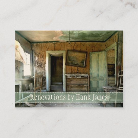 Renovations old home custom business card template zazzle renovations old home custom business card template flashek Image collections