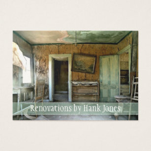 Home improvement business cards templates zazzle renovations old home custom business card template fbccfo Image collections