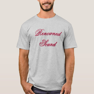 Renowned Sound, Renowned Sound T-Shirt
