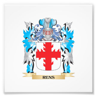 Rens Coat of Arms - Family Crest Art Photo