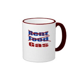 rent food gas coffee mugs