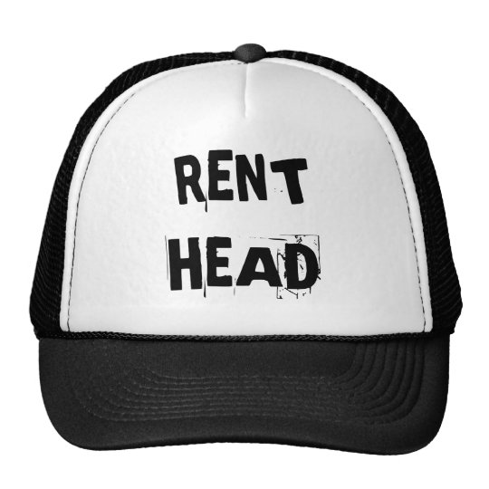 RENT HEAD TRUCKER HAT