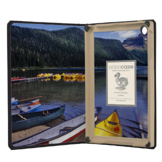 Rental boats at Cameron Lake in Waterton Lakes iPad Mini Case