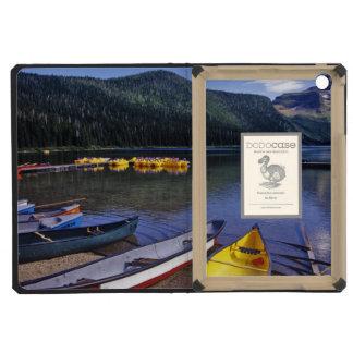 Rental boats at Cameron Lake in Waterton Lakes iPad Mini Retina Cases