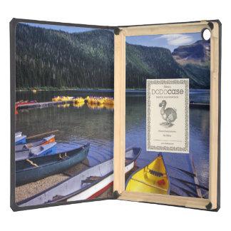 Rental boats at Cameron Lake in Waterton Lakes iPad Air Covers