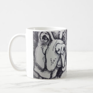 """Rental Dog"" Art Mug by Willowcatdesigns"