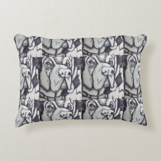 """Rental Dog"" Art Pillow by Willowcatdesigns"