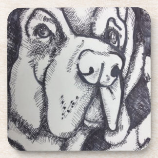 """Rental Dog"" Coasters by Willowcatdesigns"