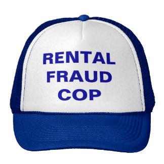 RENTAL FRAUD COP - CAP TRUCKER HAT