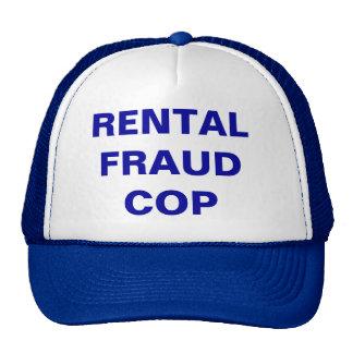 Rental Fraud Cop - Customizable Cap Trucker Hat