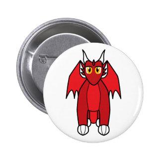 Renthmalan the Ruby Dragon Pinback Button