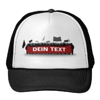 Renting demonstrator hats