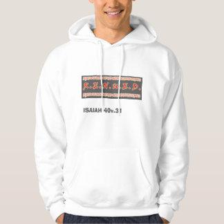 renued, ISAIAH 40v.31 Hooded Pullover