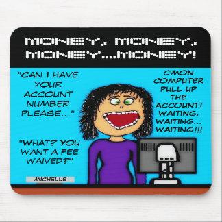 Renunciar las tarifas para los clientes tapete de ratón