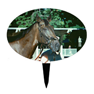 Renuncie el caballo de carreras 1977 decoración de tarta