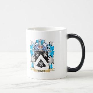 Renus Coat of Arms - Family Crest 11 Oz Magic Heat Color-Changing Coffee Mug