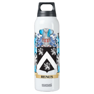 Renus Coat of Arms - Family Crest 16 Oz Insulated SIGG Thermos Water Bottle