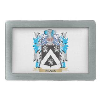 Renus Coat of Arms - Family Crest Belt Buckles