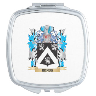 Renus Coat of Arms - Family Crest Compact Mirrors