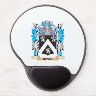 Renus Coat of Arms - Family Crest Gel Mouse Pad