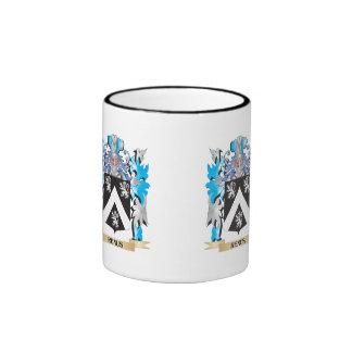 Renus Coat of Arms - Family Crest Ringer Coffee Mug