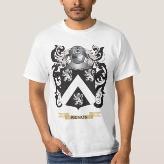 Renus Coat of Arms (Family Crest) Tee Shirts