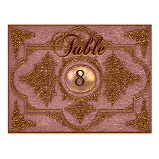 Renvoisié Liz Victorian Table Number Card