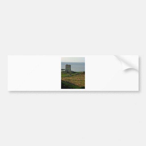 Renvyle Castle In County Galway Ireland Near Tully Car Bumper Sticker