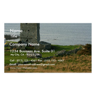 Renvyle Castle In County Galway Ireland Near Tully Business Card