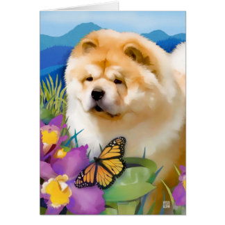 RENY heARTdog chow Greeting Card