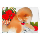 RENY heARTdog chow Greeting Cards