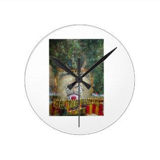 Reog Ponorogo en cría del indonesio de Java Orient Reloj De Pared
