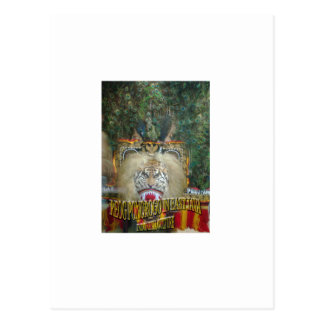 Reog Ponorogo In East Java Indonesian culture Postcard