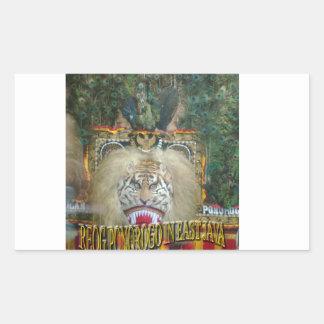 Reog Ponorogo In East Java Indonesian culture Rectangular Sticker