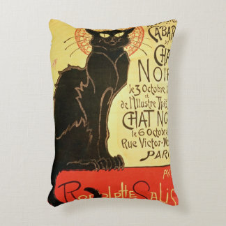 Reopening of the Chat Noir Cabaret, 1896 (colour l Accent Pillow