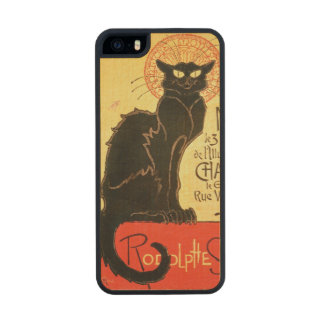 Reopening of the Chat Noir Cabaret, 1896 (colour l Carved® Maple iPhone 5 Slim Case
