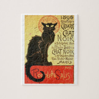 Reopening of the Chat Noir Cabaret, 1896 (colour l Jigsaw Puzzles
