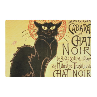 Reopening of the Chat Noir Cabaret, 1896 (colour l Laminated Placemat