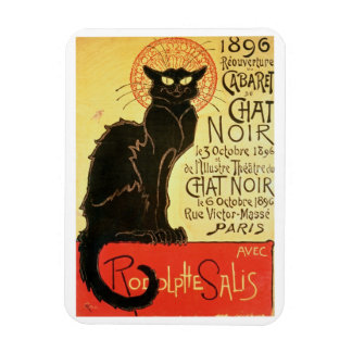 Reopening of the Chat Noir Cabaret, 1896 (colour l Rectangular Photo Magnet