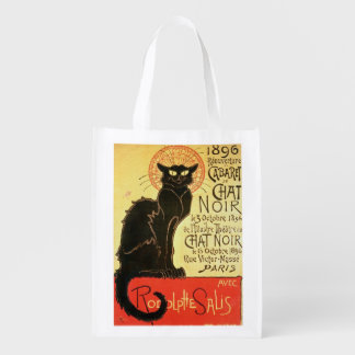 Reopening of the Chat Noir Cabaret, 1896 (colour l Reusable Grocery Bag