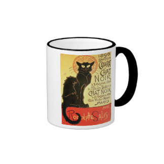 Reopening of the Chat Noir Cabaret, 1896 (colour l Ringer Coffee Mug