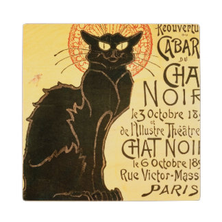 Reopening of the Chat Noir Cabaret, 1896 (colour l Wood Coaster