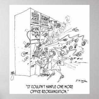 Reorganization Cartoon 1210 Poster