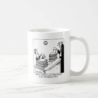 Reorganize Box Coffee Mug