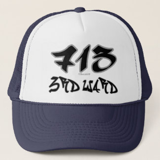 Rep 3rd Ward (713) Trucker Hat