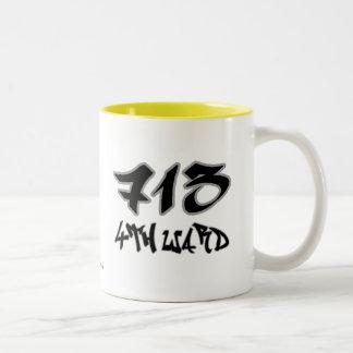 Rep 4th Ward (713) Two-Tone Coffee Mug